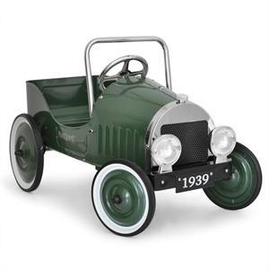 Classic Kids Toy Pedal Car with metal cladding: Click to enlarge image!