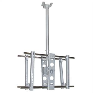LCD TV Ceiling Mount 360° swivel Range with 75kg Load: Click to enlarge image!