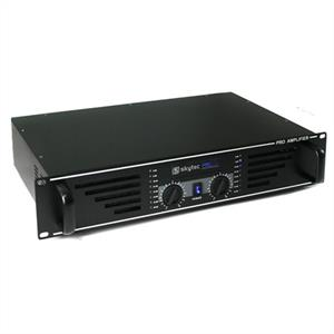 "Skytec PA-600 Watt DJ PA Amplifier 19"" Rack Mountable - Black: Click to enlarge image!"