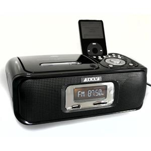 Audiola AHB061IC iPod docking Station CD MP3 USB Radio Black