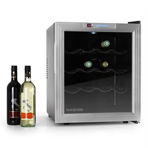 Klarstein Wine Cooler Fridge - 16 bottles 50L: Click to enlarge image!