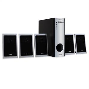 One Concept 5.1 Home Cinema Surround Sound Speaker System PC DVD: Click to enlarge image!