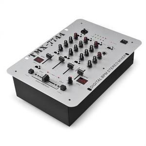 Skytec TMX-7744 3-Channel DJ Mixer with BPM Counter: Click to enlarge image!