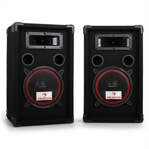 Pair Auna 8&amp;quot; Passive PA Speakers -1000W Max: Click to enlarge image!