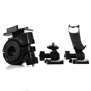 Veho Muvi Sports Camcorder Bicycle Holder Handlebar Mount: Click to enlarge image!