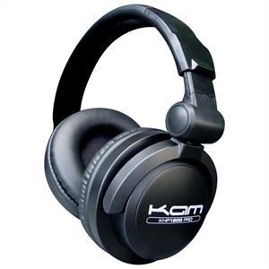 KAM KHP1500 Pro Folded DJ Audio Headphones: Click to enlarge image!