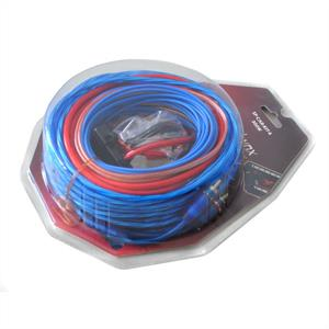 Car Wiring Kit - 30A gold plated 6mm: Click to enlarge image!