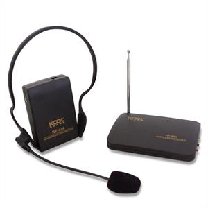 Koolsound HF-650 VHF Wireless Microphone Headset: Click to enlarge image!