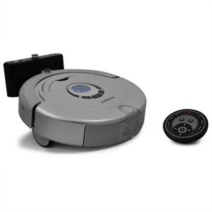 Klarstein 'CleanTouch' Robot Vacuum - 3rd Gen Floor Cleaner - Silver: Click to enlarge image!