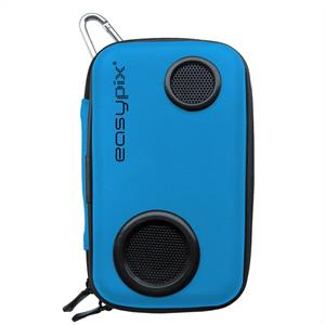 Easypix Soundbox Mobile Phone Case with Speaker - Blue: Click to enlarge image!