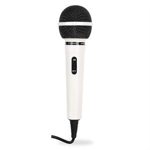 Dynamic Lightweight Microphone - White: Click to enlarge image!