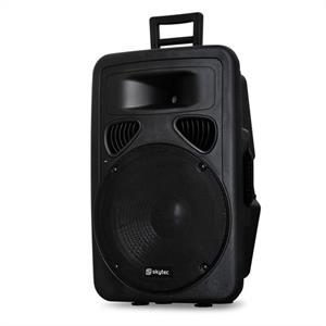 Skytec DJ PA Speaker 15 600W Passive Monitor ABS Housing
