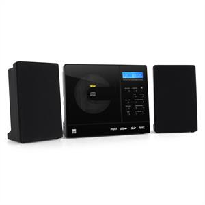 Dual Vertical 150 Stereo System MP3 CD Wall Mount AUX: Click to enlarge image!