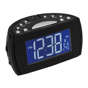 Denver CRP514 Projection Alarm Clock Radio  Thermometer