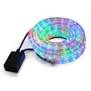 LED Rope Multicolored Party Outdoor Light 10m IP44 22W: Click to enlarge image!