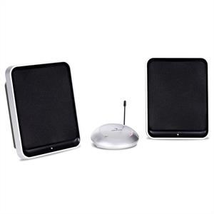 Auna Portable Hifi Stereo Wireless Speakers - 400W UHF: Click to enlarge image!