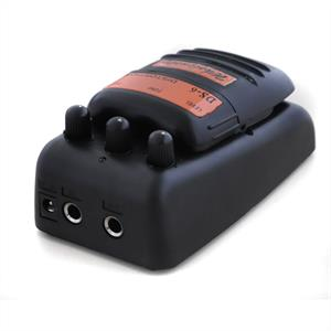Distortion Pedal for Guitars 9V Battery or Cable Operation: Click to enlarge image!