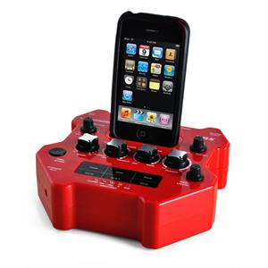Jammin Pro GX-i Guitar Effects Processor iPod Recording Dock: Click to enlarge image!