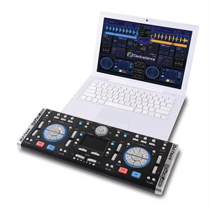 DJ-Tech Digital DJ Controller Laptop USB Keyboard Interface: Click to enlarge image!