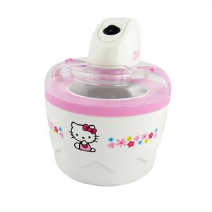 Hello Kitty Kids Ice Cream Maker Machine 700ml Mixing Bowl: Click to enlarge image!