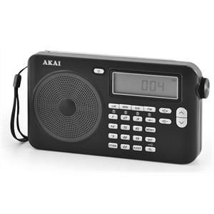 Akai PW15 World Receiver Radio Alarm clock FMLWMWKW