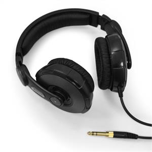 Citronic HB-450PRO DJ Studio Headphones - Black: Click to enlarge image!