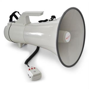 Auna Megaphone Loudspeaker 45W 1.5km with Record Function: Click to enlarge image!