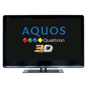 "Sharp Aquos LC46LE925E 46"" 3D LED Television with Freeview: Click to enlarge image!"