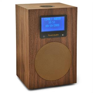 Tivoli Networks WLAN DAB Stereo Internet Radio - Walnut-Gold: Click to enlarge image!