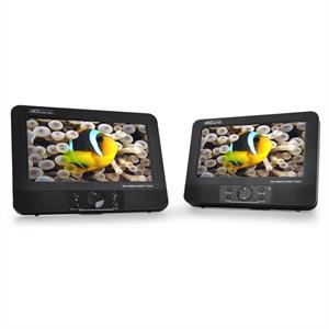 "Takara VIC67 Car DVD Player with 7"" Screens USB SD Video: Click to enlarge image!"