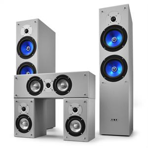 Akai AKHS-220.5-23 - Designer Home Cinema Speaker Set 790W: Click to enlarge image!