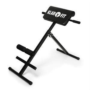 Klarfit FIT-RT1 Hyperextension Bench Back Hyper Extension: Click to enlarge image!