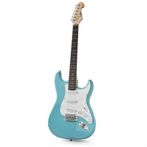 Chord CAL63 Electric Guitar 6-Strings Alder/Maple Turquoise: Click to enlarge image!