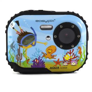 Easypix W318 Bubble Bob Childrens Underwater Camera - Blue: Click to enlarge image!