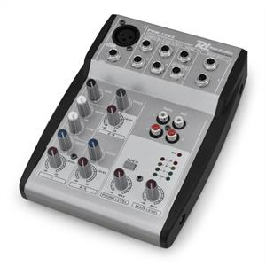 Power Dynamics PDM-L502 5-Channel Compact Studio PA Mixer: Click to enlarge image!
