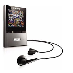 Philips GoGear Vibe SA2VBE08KA/02 MP3 MP4 Video Player 8GB: Click to enlarge image!