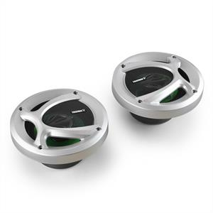 Treefrog TF-542 Pair 5.25&amp;quot; Green Frog Car Speakers - 400W: Click to enlarge image!