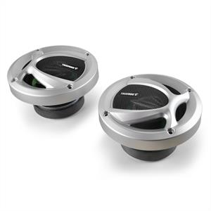 Treefrog TF-402 Pair 4&amp;quot; Green Frog Car Speakers - 240W: Click to enlarge image!