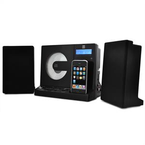 Dual Vertical 150i iPod iPhone Docking Station Stereo MP3
