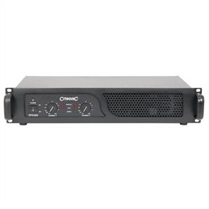 Citronic PPX-300 Bridgeable PA Amplifier 300W RMS w. Limiter: Click to enlarge image!