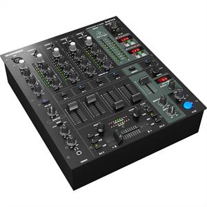Behringer DJX-750 5-Channel DJ Mixer Effects XPQ Microphone: Click to enlarge image!