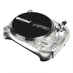 Gemini TT1000 DJ Turntable Record Player Belt Drive Pickup: Click to enlarge image!