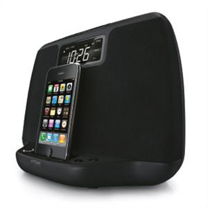 TDK TiCR100p iPhone iPod Speaker Dock Alarm Clock Radio AUX