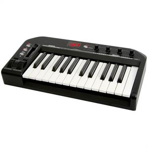 Chord MU25 USB MIDI Keyboard 25 Keys Pedal-In: Click to enlarge image!