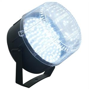 Beamz Large LED Strobe Light DJ Disco Party Lighting - White: Click to enlarge image!