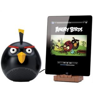Gear4 Angry Birds iPad / iPhone / iPod Dock- Black: Click to enlarge image!