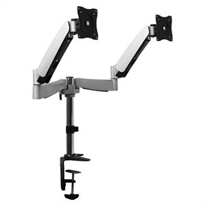 Auna LDT04C024 Table Desktop Swing Arm Mount for 2 LCD Monitors