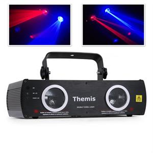 Beamz Themis Red Blue DMX Laser Light DJ Disco Stage Lighting Effects: Click to enlarge image!