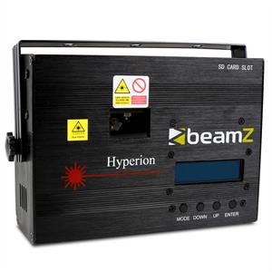 Beamz Hyperion Animation Laser 10 Channel DMX SD Light: Click to enlarge image!