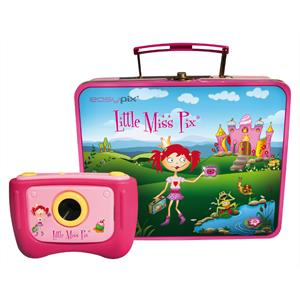 Easypix V130-MP Kids Digital Camera with Pink Case: Click to enlarge image!